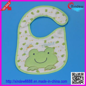 Baby′s 100% Cotton Embroidered Bib pictures & photos