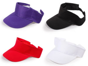 Promotional Blank Visor Cap for Custom Logo Design pictures & photos