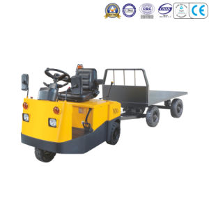 Top Quality 2-10t Electric Tow Tractor with Three Wheels