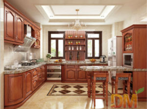 Canadian Maple Wood Kitchen Cabinet with Mable Countertop & China Canadian Maple Wood Kitchen Cabinet with Mable Countertop ...