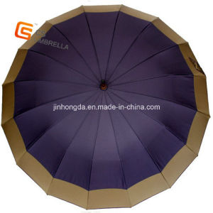 "650""16k Big Waterproof Straight Umbrella with Edge (YS-1005A)"