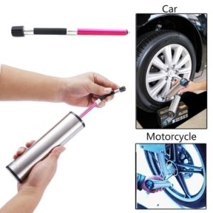 12V Electric Tyre Inflator Pump Air Compressors Digital Portable with Adapter Set and LED Light pictures & photos
