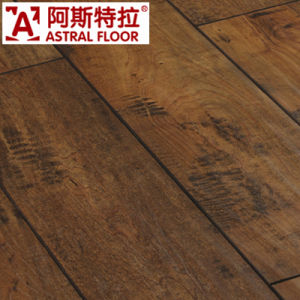 Embossed Natural European Colour Laminate Flooring pictures & photos