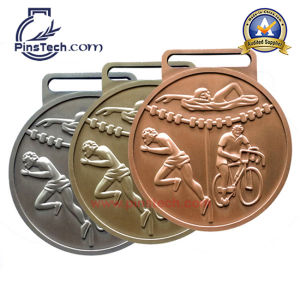 Sport Medal with Antique Cooper Finish, Accept Paypal