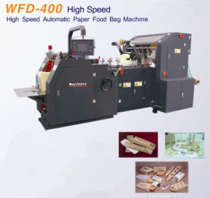 Flat & Satchel Paper Bags Making Machine Wfd-400 pictures & photos