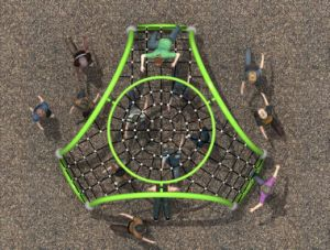 Playground Equipment for Outdoor Training--E001