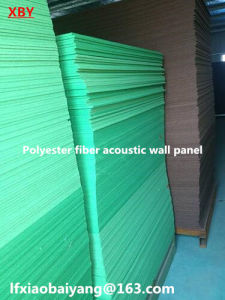 Acoustic Panel Wall Panel Ceiling Panel Decoration Panel of Polyester Fiber Board 1220*2420*9mm pictures & photos
