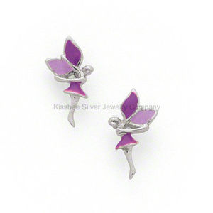 Angel Shape Silver Jewelry Set Stud Earrings for Lady pictures & photos