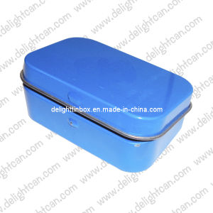 Rectangle Tin Box for Peppermint (DL-RT-0229)