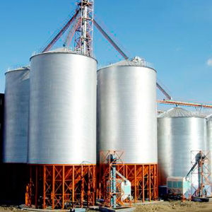 Animal Feed Mill Grain Steel Storage Silo pictures & photos