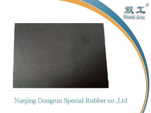 Black Acid & Alkali Bearing Rubber Sheet (NJDR0500)