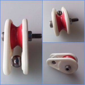 Wholesale Textile Ceramic Parts Ceramic Pulley Jump Wire Preventer