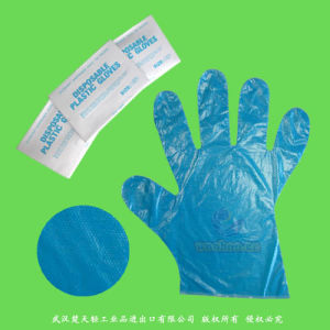 PE Disposable Gloves with Smooth & Embossed Surface pictures & photos
