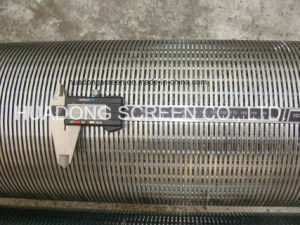High Quality Wedge Wire Screen Johnson Pipe for Deep Well Sand Control pictures & photos