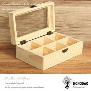 Hongdao Wholesale Wooden Bow Tie Storage Box_D