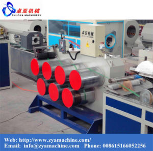 Quality Pet/PP Round Wire Drawing Machine for Rope Wire pictures & photos