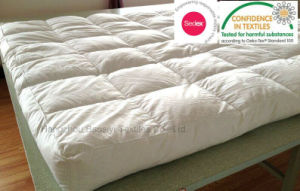 "Extra Deep 5"" Thick White Duck Feather Mattress Topper"