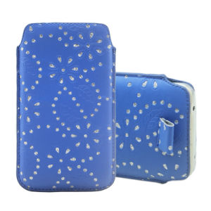 Mobile Cell PU Universal Phone Pouch Case for LG & Sony