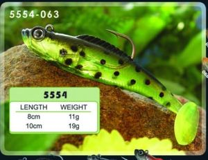 Colorful Soft Tail Fishing Lure