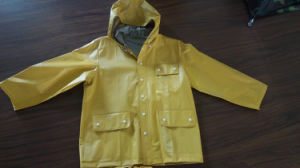 PVC/Polyester Workwear Rain Coat pictures & photos