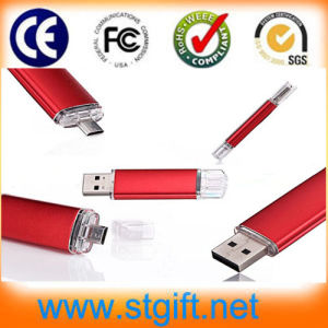 About Andriod Phone 2014 Newest OTG USB Flash Drive (OTG-001)