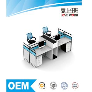 Modern Wooden Office Partition Workstation Office Furniture