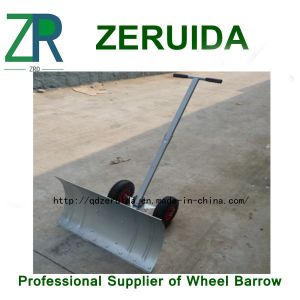 Adjustable Snow Shovel with Wheels pictures & photos