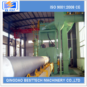 Qingdao New Tube External Shot Blasting Machine pictures & photos