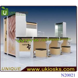 China Fashion Nail Kiosk/Hot Selling Nail Kiosk Design for Sale