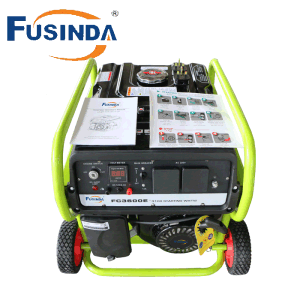 3kw Gasoline Generator with Wheels and Handles pictures & photos