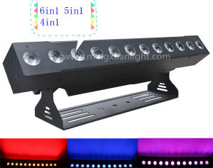 New 12*10W 4in1/5in/6in1 DMX Wireless LED Wall Washer with Battery pictures & photos