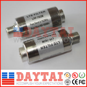 Pass Band 782MHz CATV 4G Lte Filter Lpf-782 pictures & photos