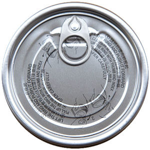 206# Aluminum Easy Open Lid pictures & photos