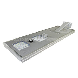 Smart Outdoor LED Light 6W-100W Integrated Solar Street Light with Remote Control pictures & photos