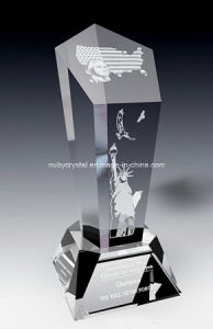 American Spirit Crystal Award Trophy (SPR7) pictures & photos