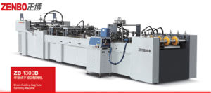 Sheet Feeding Paper Bag Tube Forming Machine China Manufacturer Output with Bag Tube