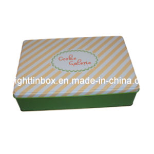 Rectangular Tin Can for Packing Eggroll (DL-RT-0273)