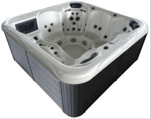 Acrylic Whirlpool Bathtub for 6 Persons pictures & photos