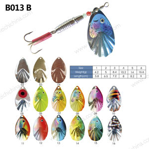 Hot Selling Colorful Metal Fishing Lure Spinner pictures & photos