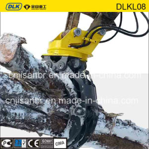 Hyundai R200 Hydraulic Rotating Wood Grapple pictures & photos
