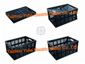 Collapsible Foldable Folded Plastic Crate (YHX-035)