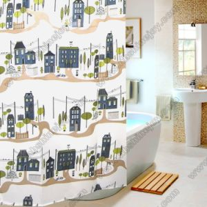 Town Style Shower Curtains pictures & photos