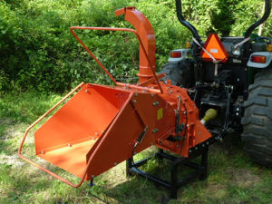 China Made Wood Chipper/Pto Model Wood Chipper (thresher) Wc-8th