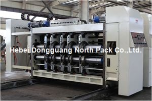 Multicolors Corrugated Paper Printing slotting and die-cutting Machine pictures & photos