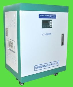 Single Phase 230V 60Hz Convert to 380V 50 Hz Three Phase Power Drive to Machines