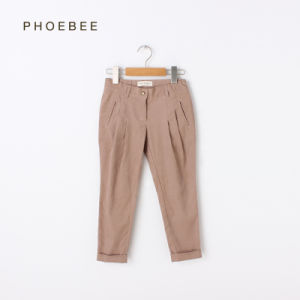Phoebee Children Garment Girl′s Casual Pants pictures & photos
