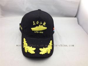 f9c229efc6a14 China Custom Brushed Cotton Legionnaire Navy Baseball Hat - China ...