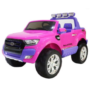 Pink Ford Ride On Toy Car
