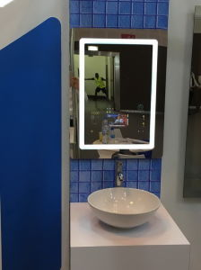 China Bathroom Smart Mirror With Led Light Tv