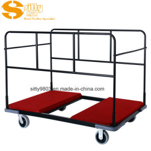 High Quality Hotel Banquet Facility Round Table Trolley Cart (SITTY 99.7601)